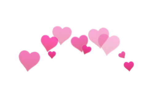 Hearts background png. Photobooth transparent tumblr l