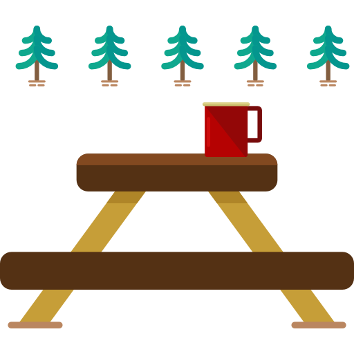 Picnic Table Clipart at GetDrawings