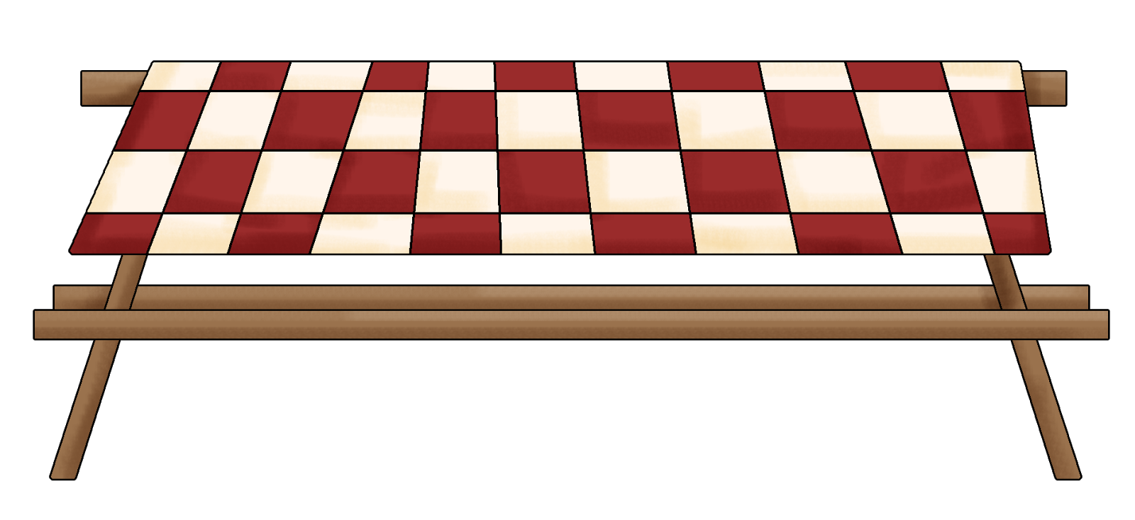 Red and white picnic blanket table png. Collection of rug