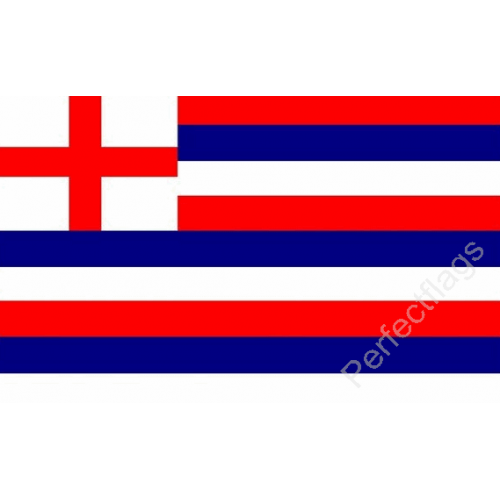 Red and white stripes png. Striped ensign blue flag