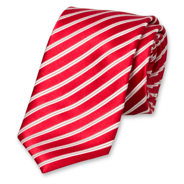 Red and white stripes png. Striped necktie in at
