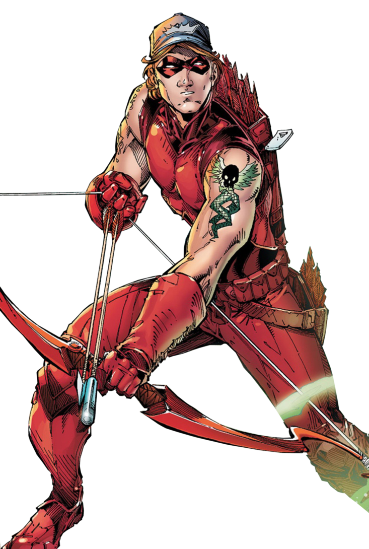 Red arrow dc png. Roy harper by trickarrowdesigns
