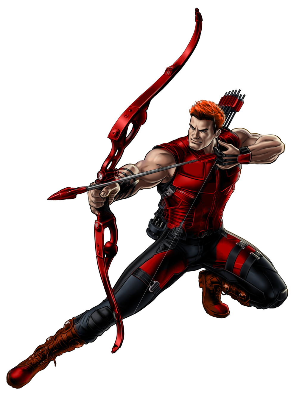Red arrow dc png. Roy harper pinterest green