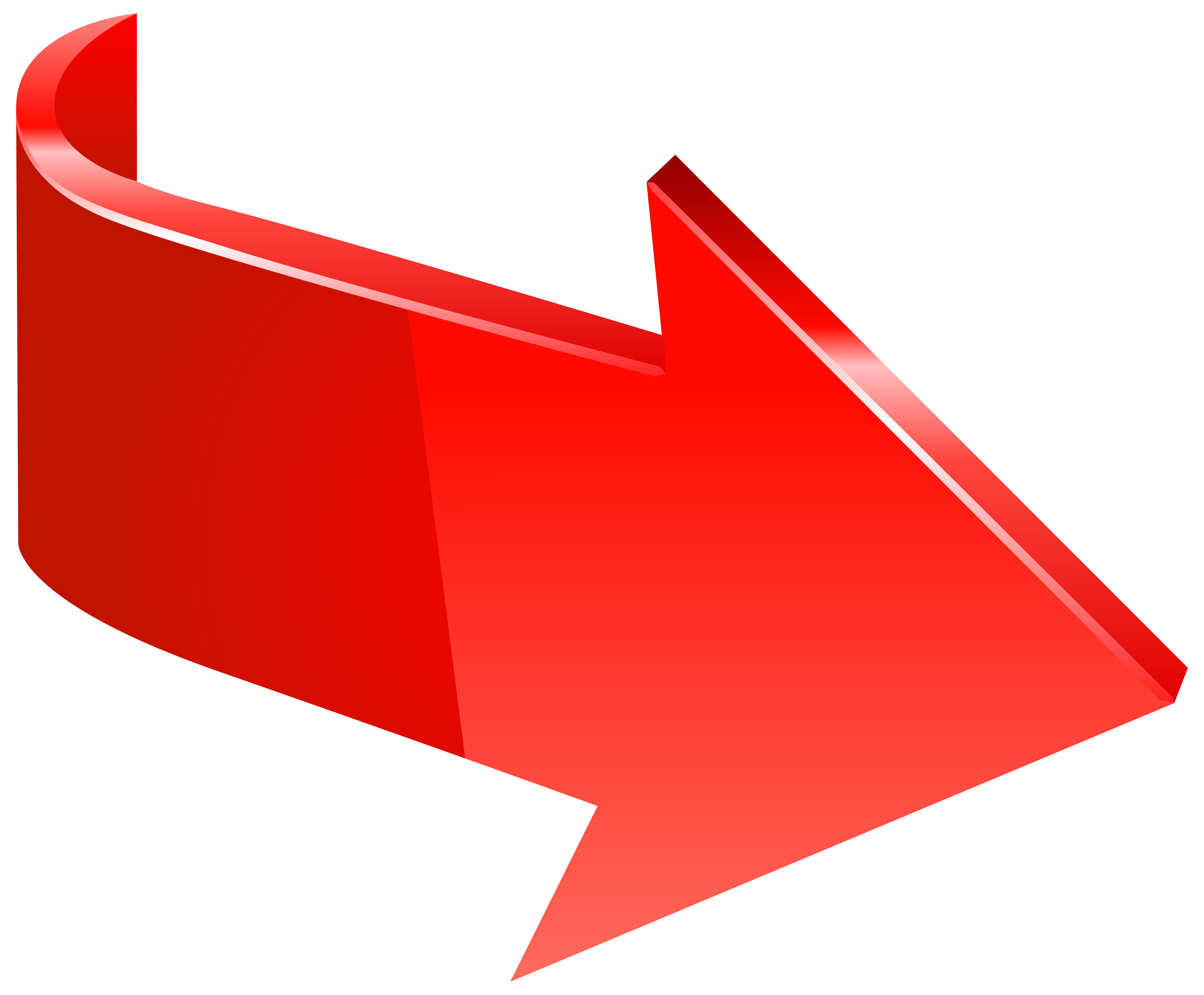 Transparent clip art image. Red right arrow png svg royalty free library