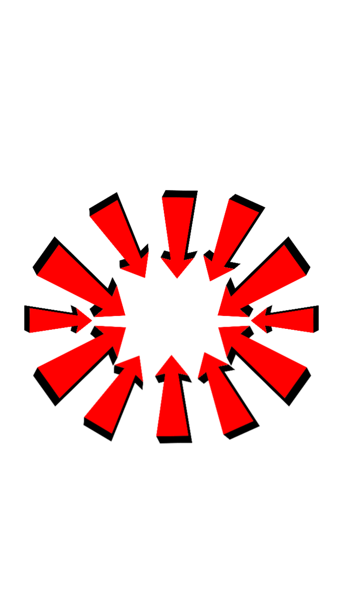 Red arrow transparent png. Arrows background by derp