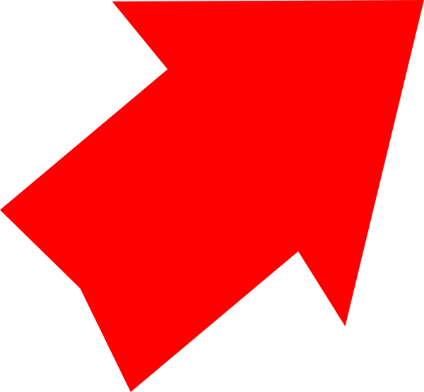 Red arrow up png. Right clip art at