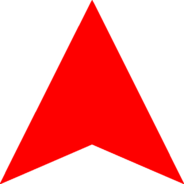 Red arrow up png. File wikimedia commons filered
