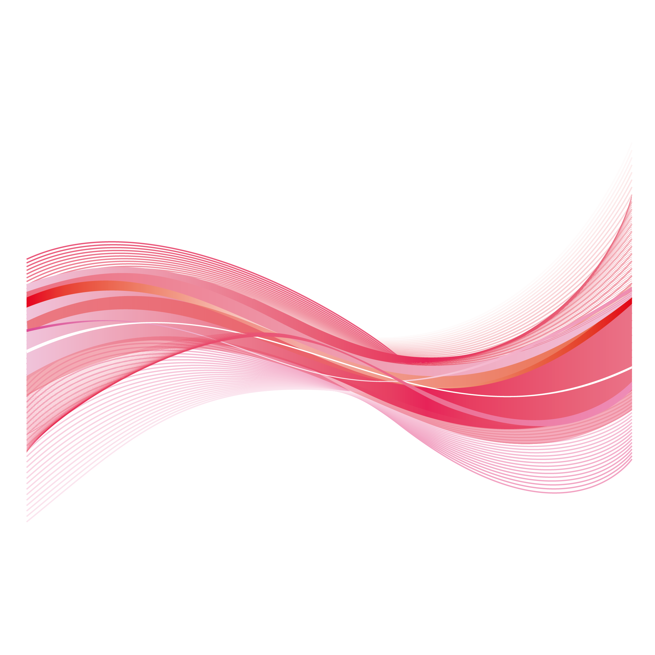 Pink wave png. Red flowing cover background