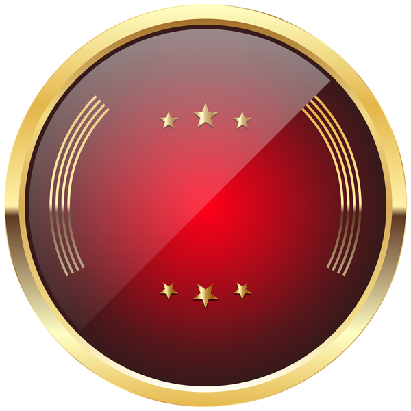 Red badge png. Template transparent clip art