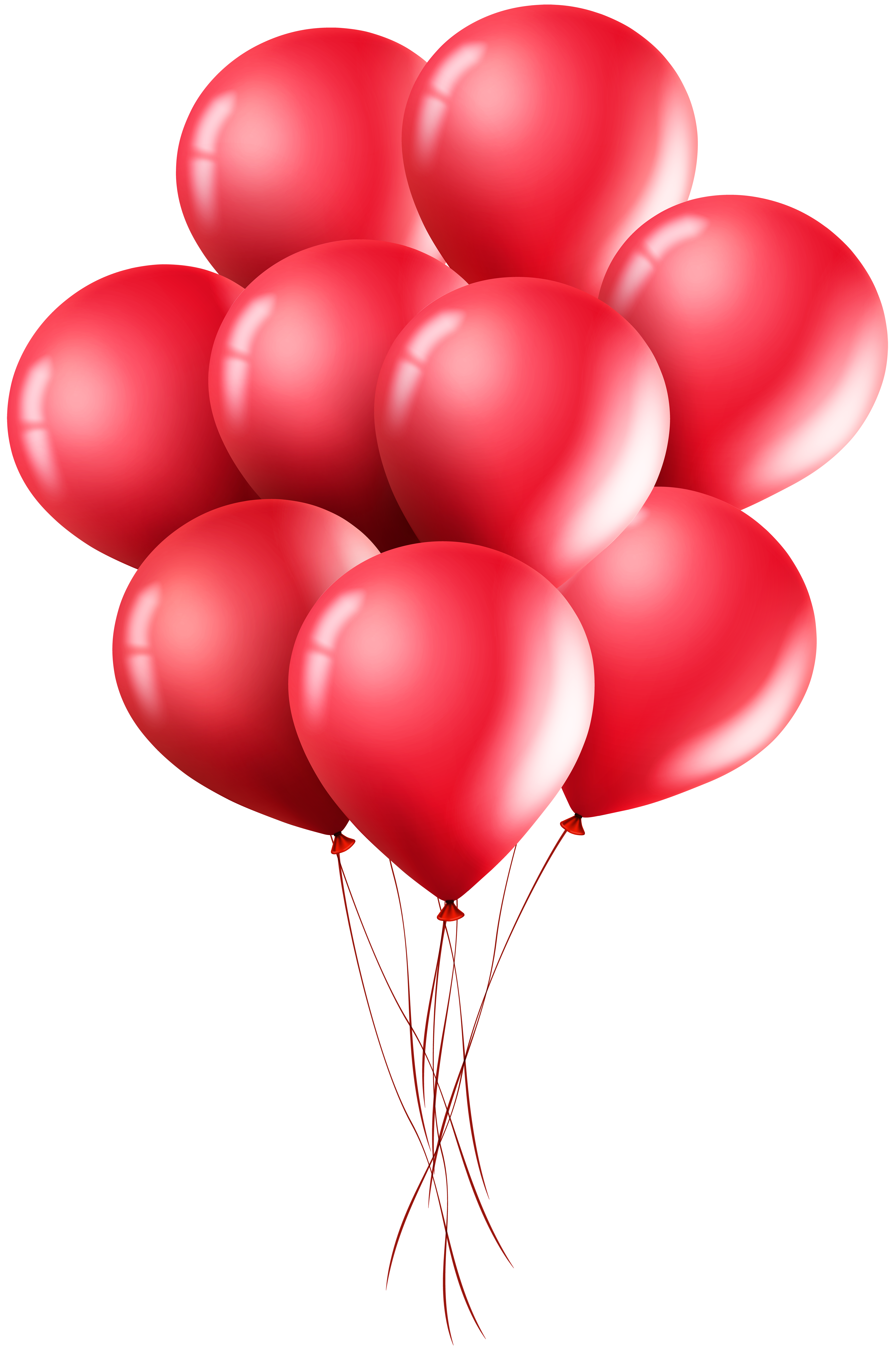 Red balloons png. Clip art image gallery