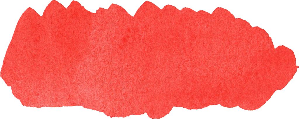 Red banner png. Watercolor brush stroke