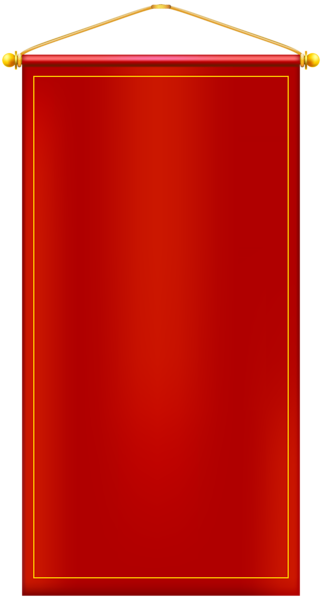 Vertical vector page background. Red banner png clip