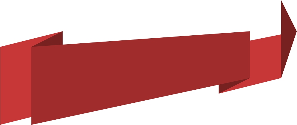 Red banner png. Image with transparent background