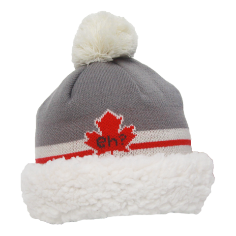 Red beanie hat png. Canada just in winter