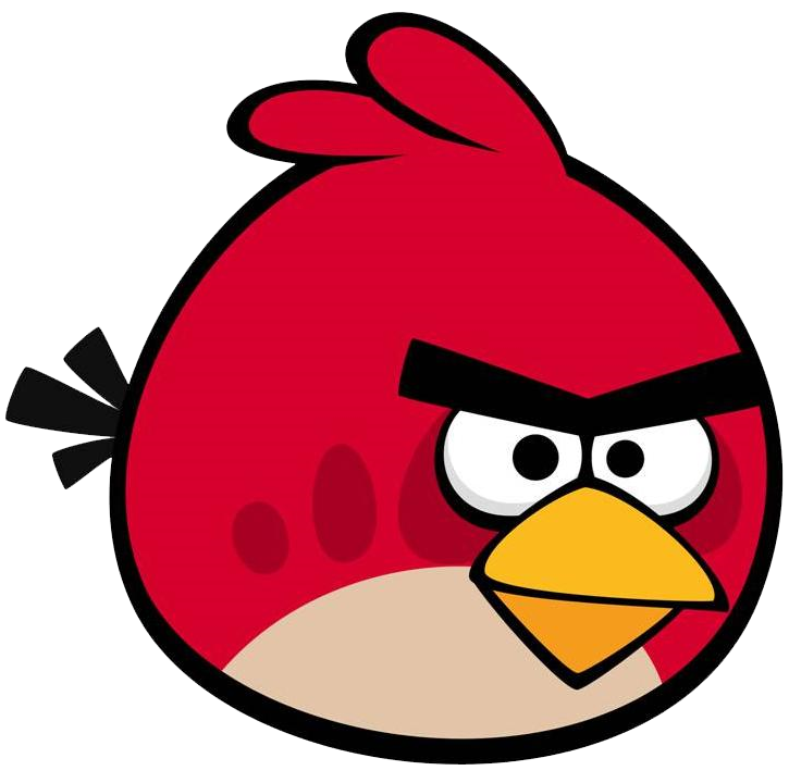 Red bird png. Image redbird angry birds
