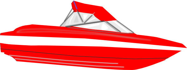 Red ship. Free boat cliparts download