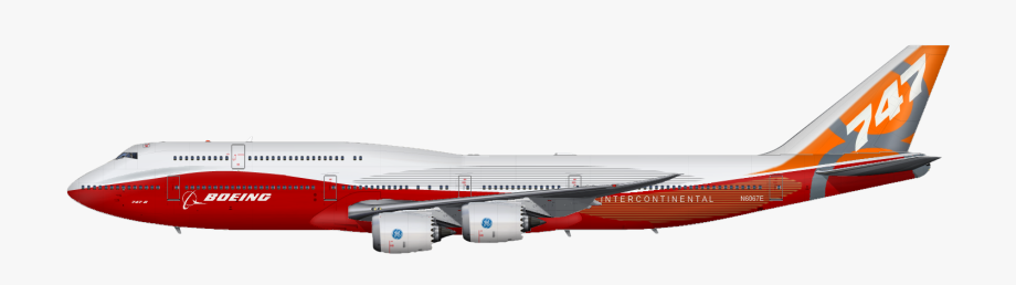 Red boeing