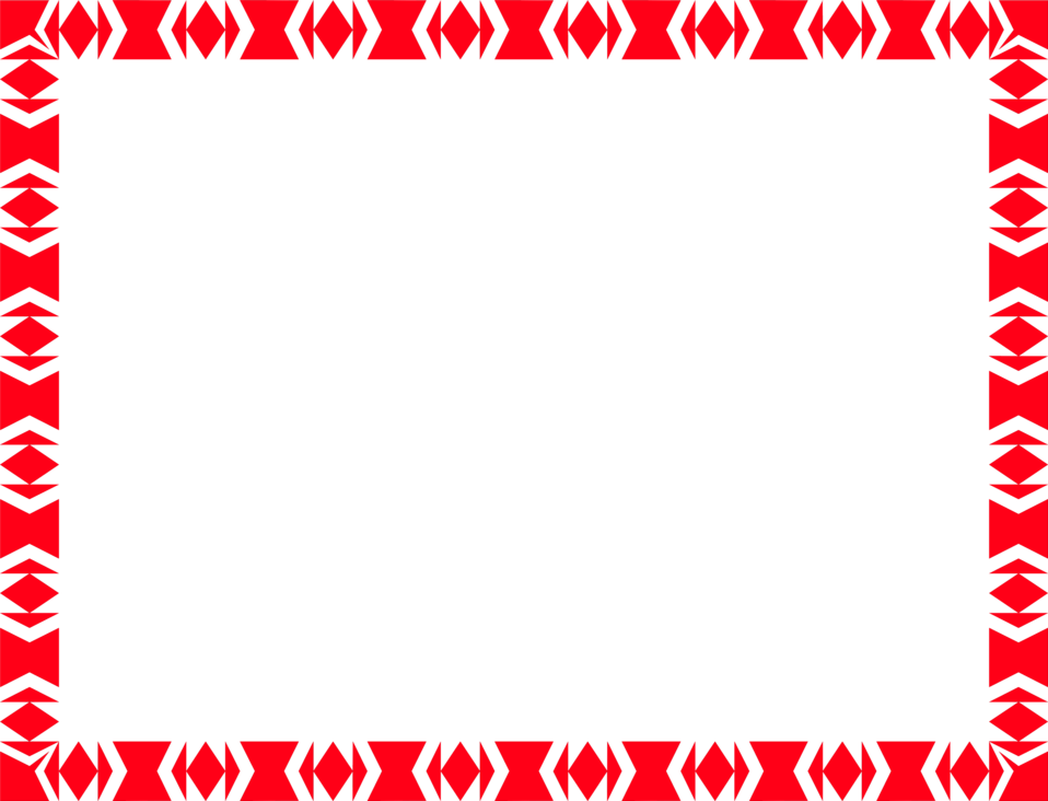 Red borders png. Border frame file vector