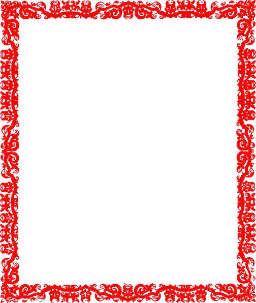 Red border png. Design clip art at