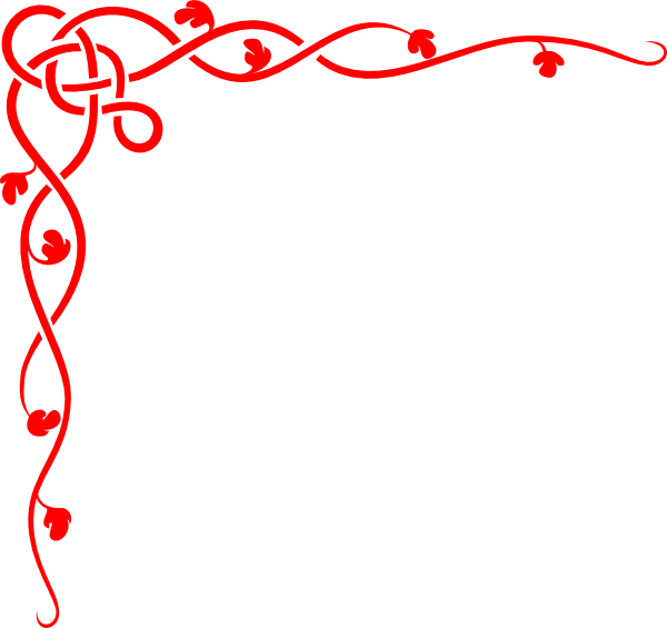 Red borders png. Jeff border clip art