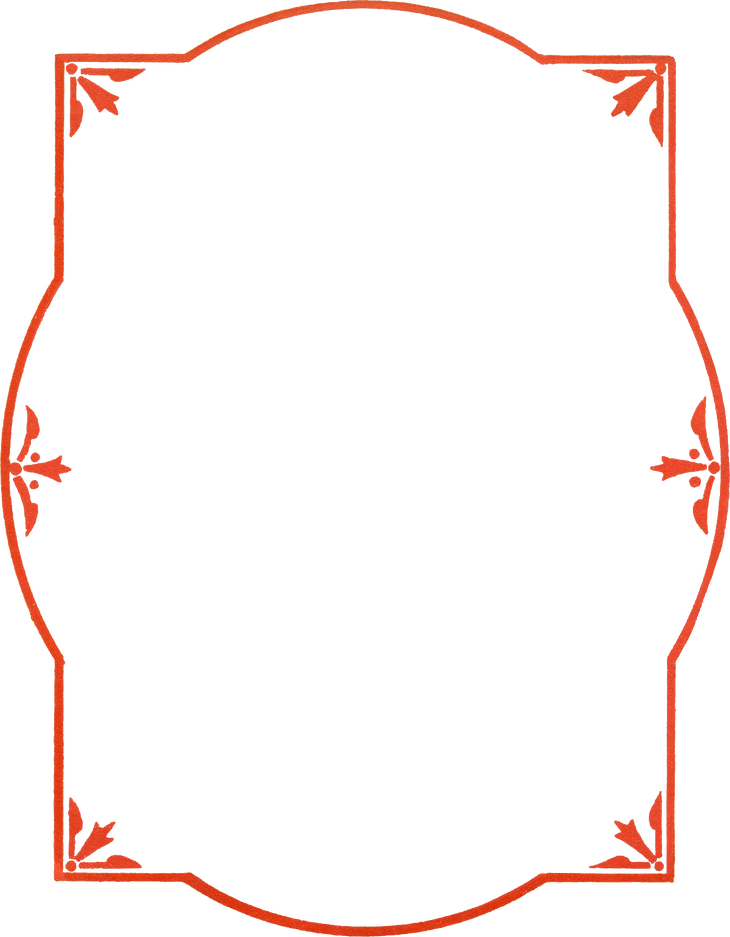 Red borders png. Wings of whimsy border