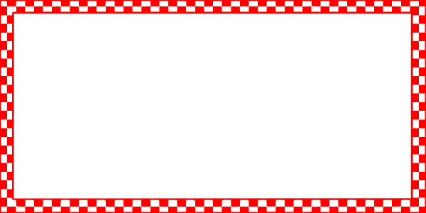 Red borders png. Checkered border clip art