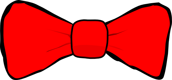 Red bow tie png. Clip art at clker