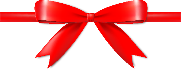 Red bow transparent png. Ribbon image with background