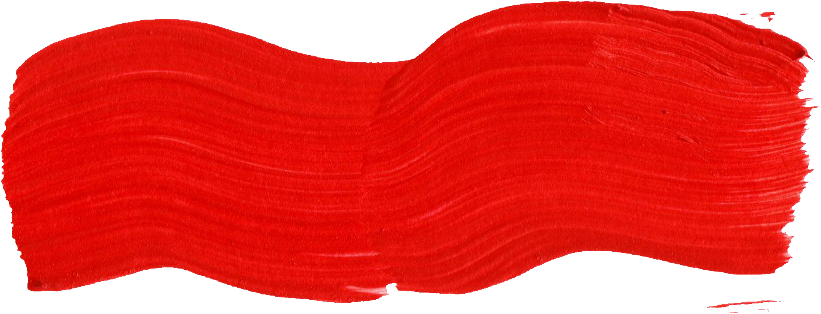 Red brush stroke png. Paint transparent onlygfx