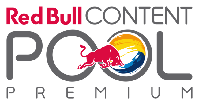 Red bull media house logo png. Action features content pool