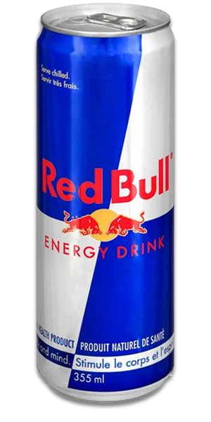 Red bull png. Energy delivery in toronto