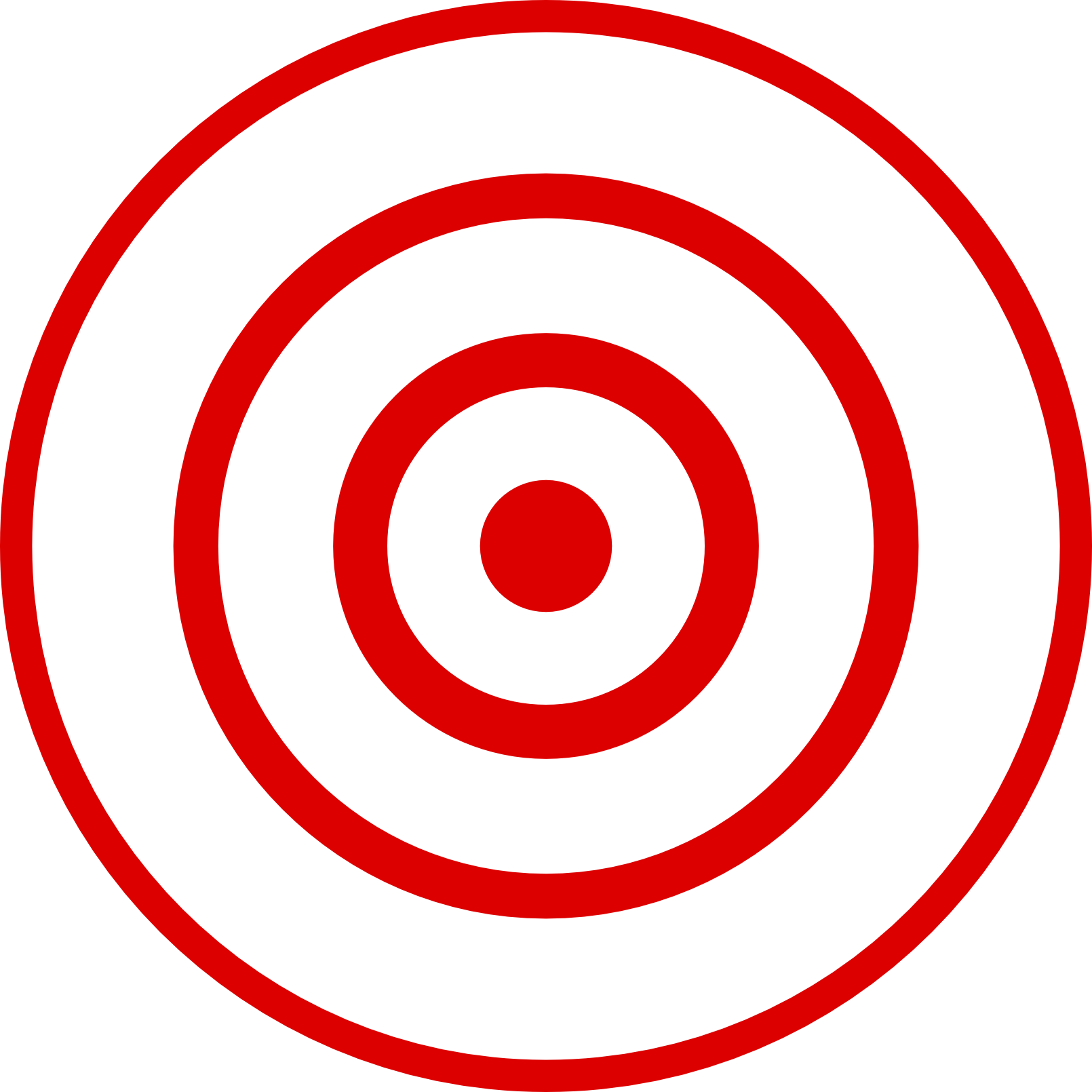 Red bullseye png. File wikimedia commons filebullseyepng