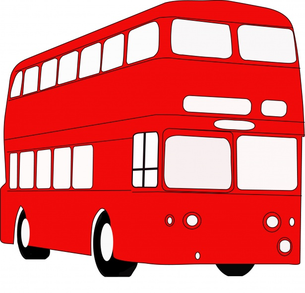 Red bus. Free stock photo public