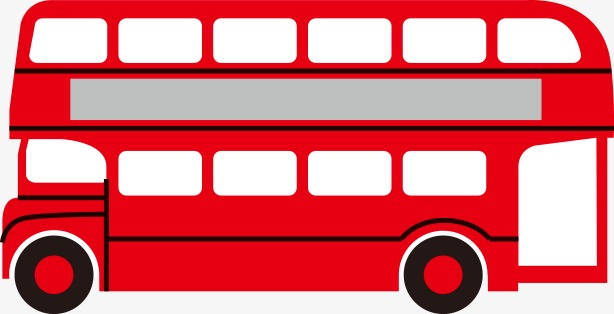 Red bus. Clipart car png i