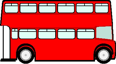 Red bus. Clipart free images clipartix