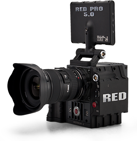 Red camera png. Scarlet x kit rental