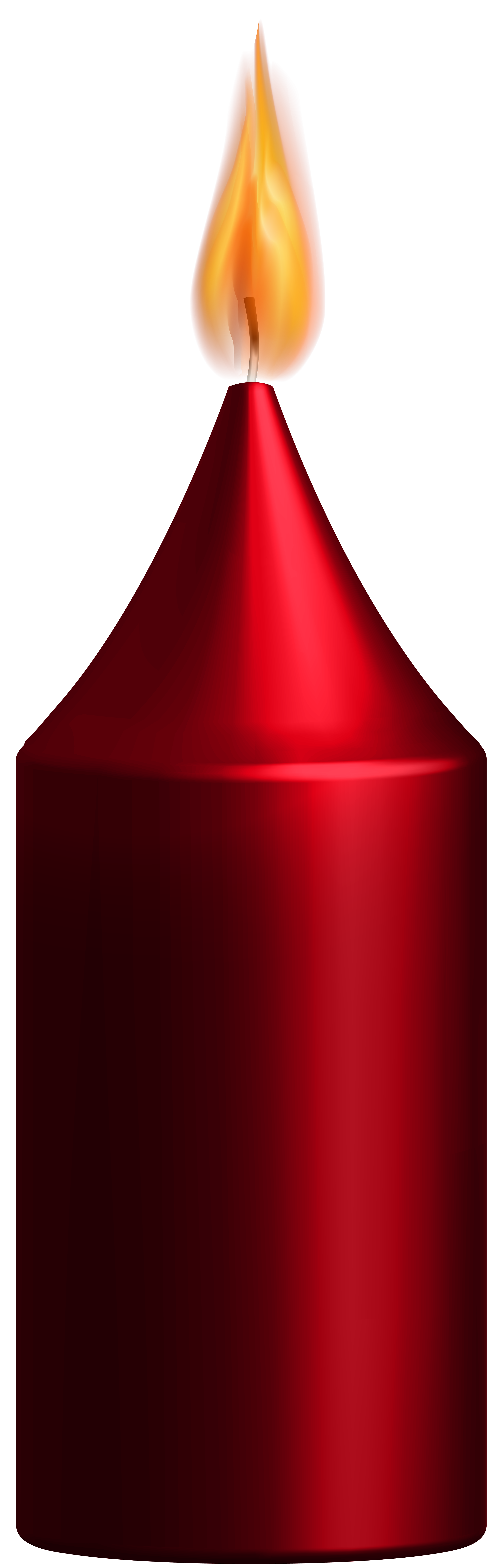Red candle png. Clip art best web