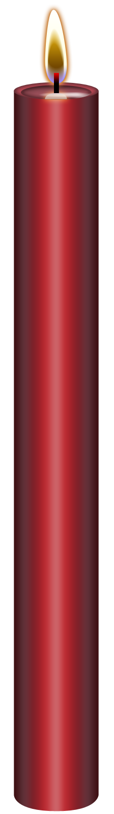 Red candle png. Metallic stock by blood