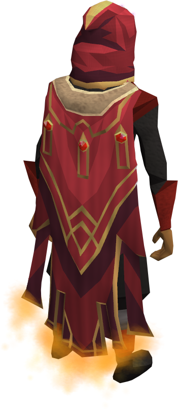 Red cape on floor png. Completionist t runescape wiki