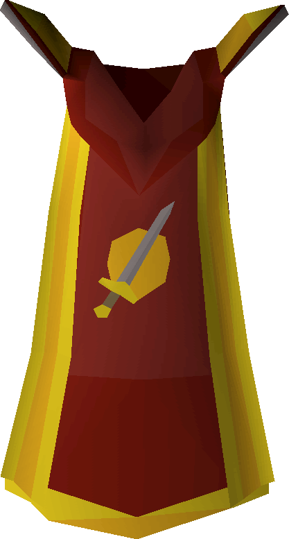 Red cape on floor png. Attack old school runescape