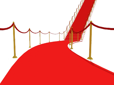 Red carpet png.