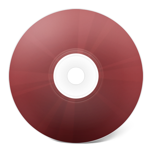 Red cd png