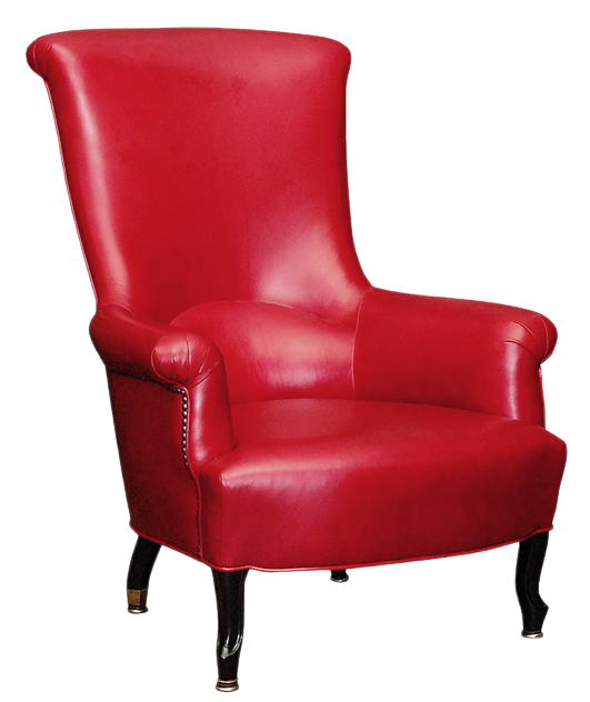 Chair clip leather. Red png picture gallery