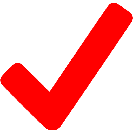 Red check png. Checkmark icon free mark