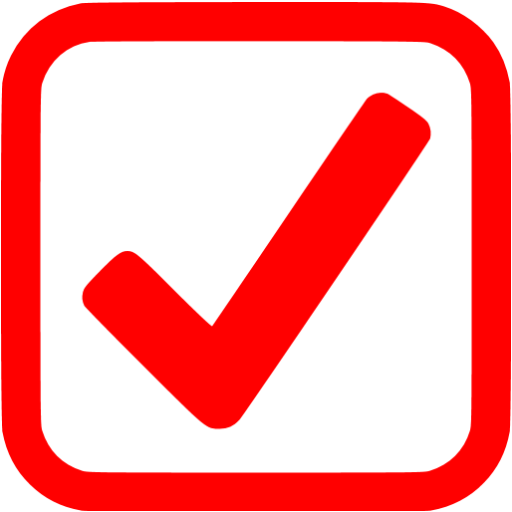 Red check png. Tick box transparent images