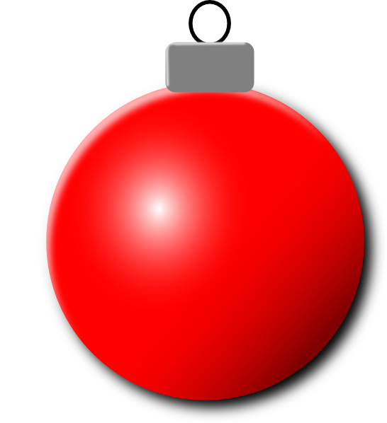 Red christmas ornament png. Clip art at clker