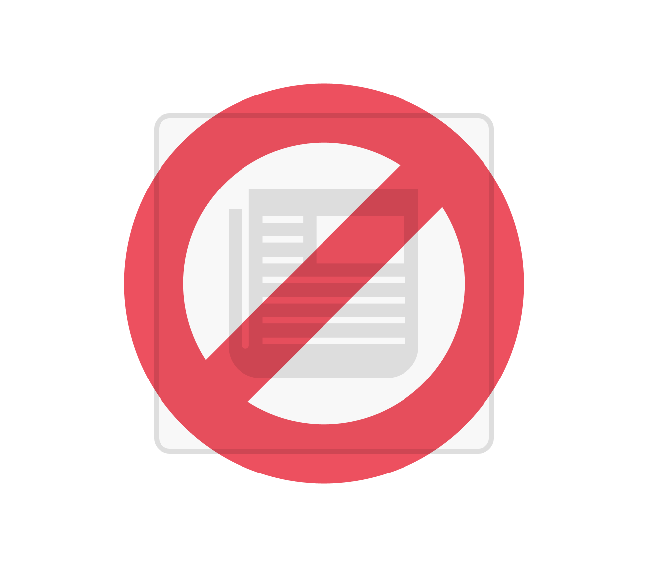 Red circle cross out png. Internet filtering set individual