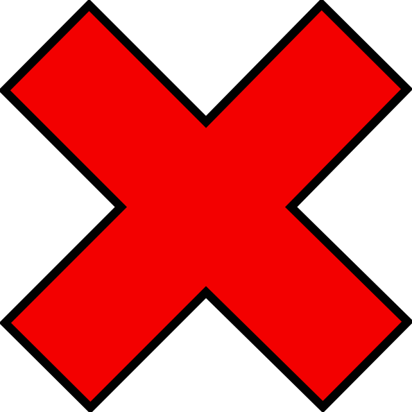 Red circle cross out png. Clip art at clker