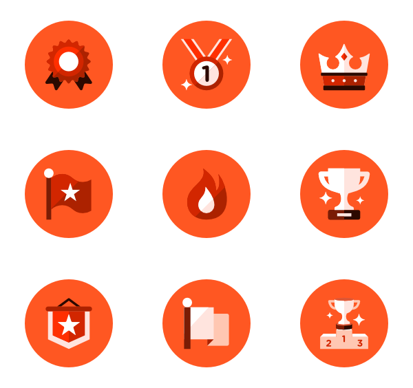 Red circle icon png. Essential family vector icons