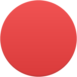Red circle icon png. Trafficlight flatastic iconset custom